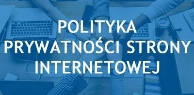 Polityka prywatności strony internetowej